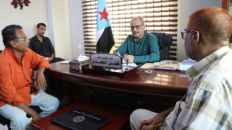 Deputy Secretary-General meets Head of Consumer Cooperatives Federation in Aden the capital