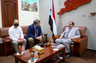 Major General Bin Brik receives Director of the Office of High Commissioner for Refugees