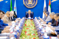 Presidency of Transitional Council reviews developments in Aden the capital and governorates of Shabwa, Abyan and Al-Mahra
